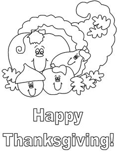 spongebob thanksgiving coloring pages - photo#16