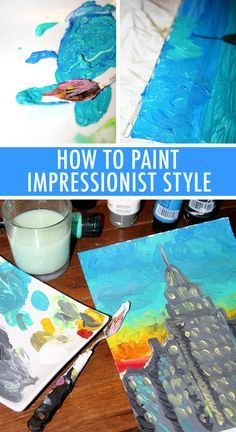Paint Like Monet: A Beginner's Guide great video explains the ...