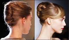 Runway French Twist Hairstyles