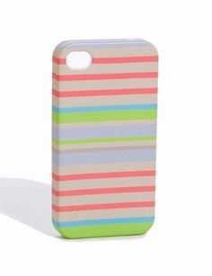 The Limited iPhone® 4/4s Case in multicolor stripes
