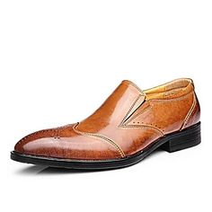 CEEN Leather Men's Loafer Shoes For Office – GBP £ 57.84