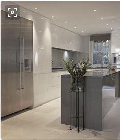 New kitchen design modern contemporary cuisine 70 Ideas Kitchen Room Design, Home Decor Kitchen, Kitchen Interior, Kitchen Ideas, Kitchen Furniture, Interior Livingroom, Kitchen Designs, Kitchen Hacks, Diy Kitchen