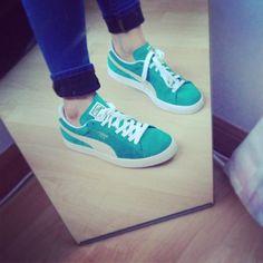 sale retailer 59bb8 272a1 Love the colour (Puma Suedes)