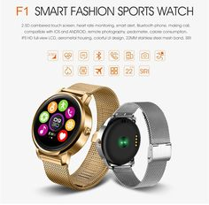 Round Bluetooth Smart Watch Classic Health Metal Smartwatch with Heart Rate Monitor for Android IOS Phone Remote Camera Clok smartwatch with heart rate monitor smart