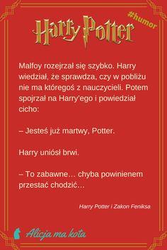 Zabawne cytaty - Harry Potter i Draco Malfoy, cytat z książki #HarryPotter #cytaty #książki Harry Potter Humor, Harry Potter Facts, Jily, Drarry, Draco Malfoy, Wolfstar, Harry Potter Wallpaper, Fanfiction, Logo