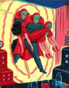 Ryan Heshka Art and Illustration :: Vancouver, BC - News  Upcoming Shows