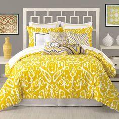 Trina Turk Residential Ikat 3 Piece Comforter Set | AllModern