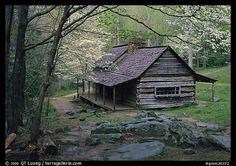 The Noah Ogle Cabin in the Great Smoky Mountains National Park