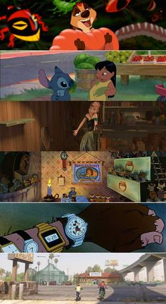 Gotta love a good Hidden Mickey! Here are a few of our favorites. Can you name all the movies containing these Hidden Mickeys?