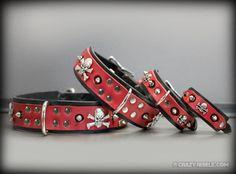 Dog Portraits, Dog Collars, & Dog Apparel | Crazy Rebels - Reaper Collar - crazyrebels.com