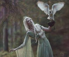 A.M.Lorek Photography dimension model: Maria Amanda dress: Fairy Cave