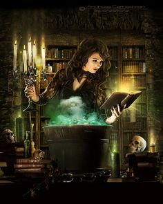 Witchcraft magic spells are powerful and work well to bring positive changes into your life. Witchcraft spells are spells of magic that are safe. Fantasy World, Dark Fantasy, Fantasy Art, Fantasy Witch, Fantasy Paintings, Share Pictures, Poses References, Witch Art, Sea Witch