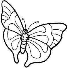 Butterfly 5 Coloring Page