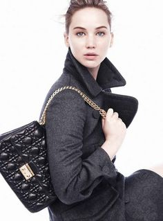 Jennifer Lawrence goes for natural look in new Miss Dior ads