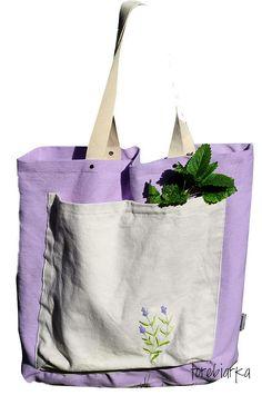 magic bag of Provence with lavende Artist Bag, Magic Bag, Provence, Tote Bag, Bags, Fashion, Handbags, Moda, Fashion Styles