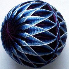Ŧhe ₵oincidental Ðandy: A Feast For The Eyes: The Artful Geometry of Japanese Temari Thread Balls