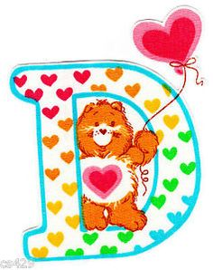 ❤️Care Bears and Friends ~ The Letter D