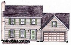 Elevation of House Plan 58446