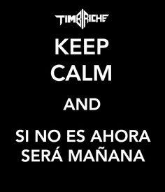 Keep Calm AND, Timbiriche, 80´S