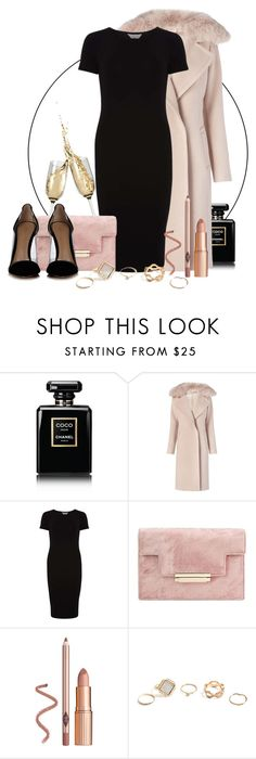 """Untitled #1024"" by jasmine96xx on Polyvore featuring Chanel, Diane Von Furstenberg, Dorothy Perkins, GUESS and Gianvito Rossi"
