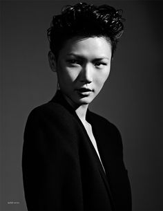 gwen lu, by stian foss for theones2watch no. 11, march 2011. hair by yasutaké kosaka.