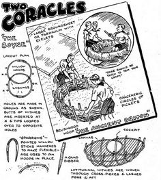 British coracle
