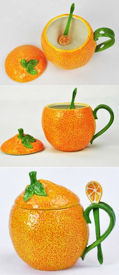 Ceramic Lemon Water Cup mug Fruit mug