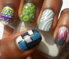Haute Lacquer: All Over The Place