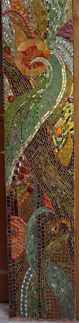PRETTY WALL MOSAIC. By: Mosaikstall, via Flickr...