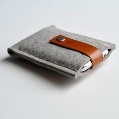 iPod case made from felted wool. I like the story of how this company got started!