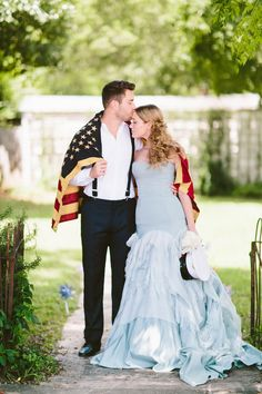 This July 4th-Themed Wedding Will Make You Want To Get Married ASAP