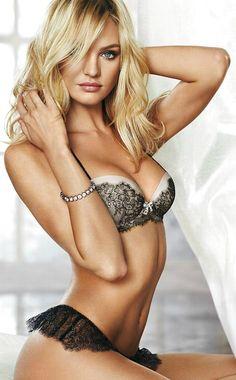 Candice Swanepoel – Victoria's Secret lingerie