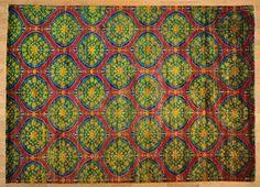 8.5' x 12' Sari Silk Multicolored Suzani Design Hand Knotted Oriental Rug