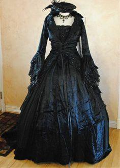 Masquerade Ball Gowns | black gothic victorian masquerade dress in modern world the masquerade
