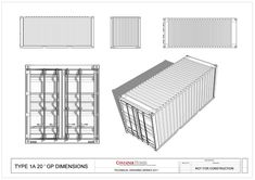 Shipping Containers - Physical Characteristics - Architecture Studios - Class Website