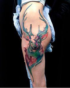#Tattoo by @mircoisdead ##Equilattera #tattoos #tat #tatuaje #nature #forest…