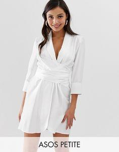 370884170c8 DESIGN lace insert wrap maxi dress in 2019