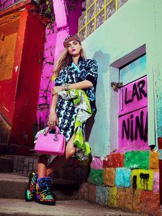Mis Queridas Fashionistas: Cara Delevingne for Vogue Brazil February 2014
