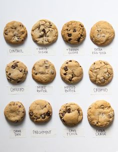 Easy Cookie Recipes, Baking Recipes, Dessert Recipes, Dinner Recipes, Cookie Flavors, Drink Recipes, Breakfast Recipes, Soft Chocolate Chip Cookies, Chocolate Chip Recipes