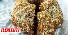 Nuss-Nougat-Cheesecake mit Haselnussstreuseln (no bake cake quark) Brownie Recipes, Cheesecake Recipes, Cheesecake Cupcakes, Sweet Recipes, Real Food Recipes, Banana Oatmeal Bars, Nougat Torte, Ancient Recipes, Baked Banana