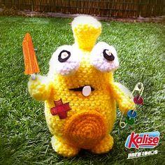 ¡Una de nuestras kriatur-Ices se nos ha colado en el jardín! ¡Kalise para todos! :) #Kids #Amigurumi