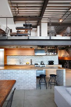 SHED Architecture & Design recently completely a custom renovation of this Seattle loft located in Capitol Hill.