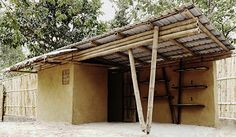 sustainable bamboo kiosk for bear rescue center in cambodia