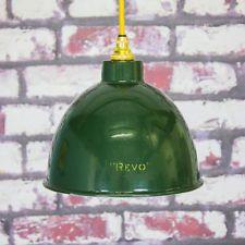 industrial ceiling light in Antique Furniture Industrial Ceiling Lights, Vintage Industrial, Antique Furniture, Lamp Light, Decorative Bells, Basement, 1960s, Enamel, Lighting