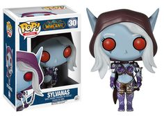 Your favorite MMORPG characters get the Pop! Vinyl treatment! This World of Warcraft Lady Sylvanas Pop! Vinyl Figure features the Queen of the Forsaken and leader of the undead as a stylized Pop! Viny