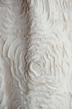 "Details on ""DAHLIA"" wedding gown via Amsale (1) From: Style Me Pretty, please visit"