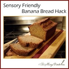One of the most enduring lessons I learned in my Grandma's farm kitchen is that brown bananas = banana bread. Sensory Issues, Sensory Processing Disorder, Cooking Hacks, Autism, Banana Bread, Posts, Texture, Tips, Desserts