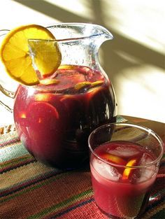 ☀ Puerto Rico - Simple Sangria☀