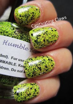 Nailventurous Lacquers Humble Bee