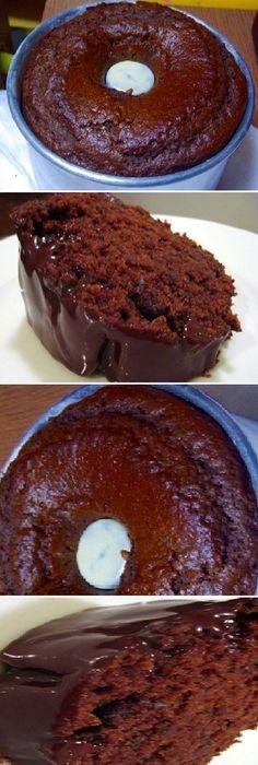 🍫Torta de chocolate batida en licuadora🙋 Sweet Recipes, Cake Recipes, Dessert Recipes, Love Eat, Love Food, Chocolate Coffee, Torta Chocolate, Cake Cookies, Cupcake Cakes